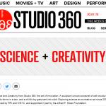 Science and Creativity logo from Studio 360 WNYC